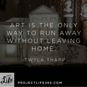 Inspirational quote by Twyla Tharp
