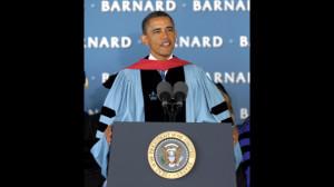 President Barack Obama @ Barnard College (2012)