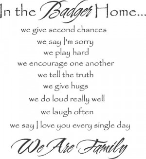 We Are Family | Wall Decals