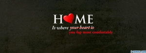funny home quote facebook cover for timeline