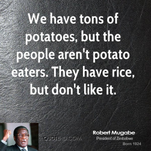 Robert Mugabe Quotes