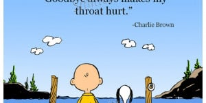 Goodbye Charlie Brown Quotes