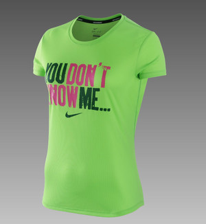 Nike Dri-FIT You Don't Know Me Women's Running T-Shirt Profile Photo