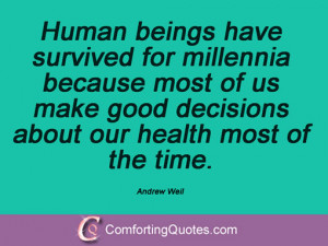 Quotes And Sayings From Andrew Weil