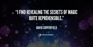 Quotes About Revealing Secrets