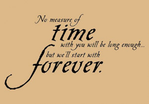 twilight quote no measure of time will be by inspirationsbyamelia $ 16 ...