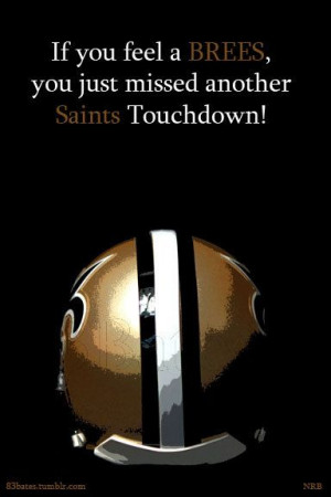 New Orleans Saints Signs Drew Brees Touchdowns home office man cave ...