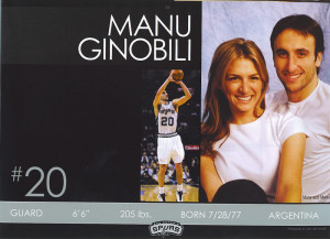 Wait...is that Manu's wife or sister? They have the same nose!