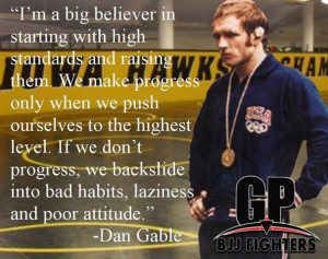 ... quote live on. #Grapplersplanet #DanGable #Gable #Legend #wrestling