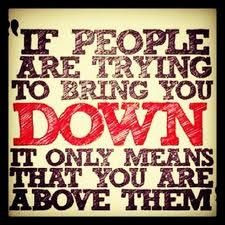 Don't let people bring you down! #Quotes