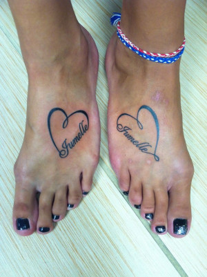 Twin Sister Tattoo Designs Image Removal Request