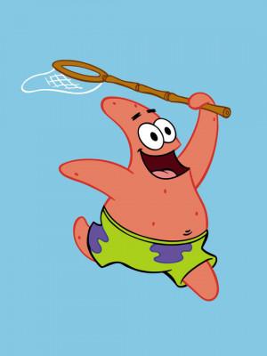 spongebob draws a jellyfish patrick it s pretty good spongebob but it ...