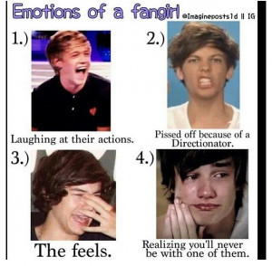 Emotions of a Fangirl.