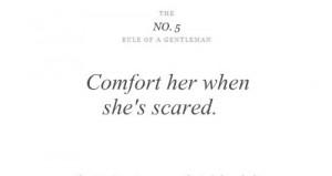 ... gentlemen ten rules of a gentlemen 1 10 rules of gentlemen quote 005