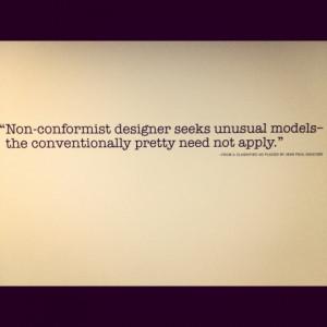 Jean Paul Gaultier quote