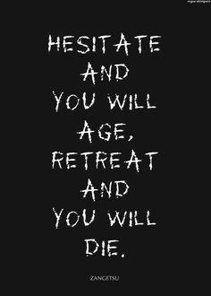 Zangetsu quote.