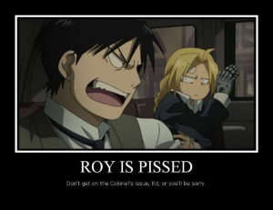 Edward Elric x Roy Mustang EdRoy!