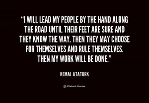 Mustafa Kemal Ataturk Quotes With Pictures