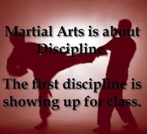 Martial Arts Discipline