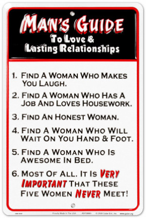 Guide to Lasting Relationships - Man