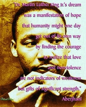 Dr. Martin Luther King Jr.'s dream was a manifestation of hope that ...