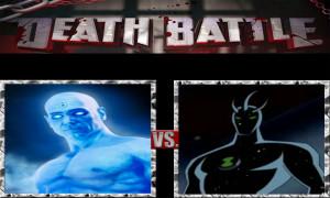 Dr.Manhattan vs. Alien X by ScarecrowsMainFan