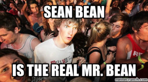 Generate a meme using Sudden Clarity Clarence