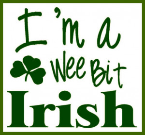 irish i m a wee bit irish irish i m a wee bit irish vinyl only this ...