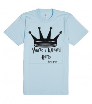 HARRY POTTER T-SHIRT--YOU'RE A WIZARD HARRY | Fitted T-shirt | Front