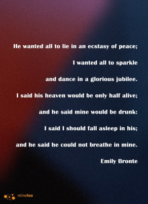 first....# love# first love# Emily Bronte# literary quotes