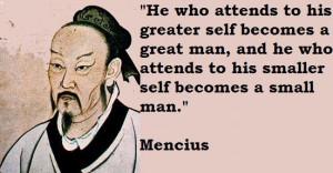 Mencius famous quotes 2