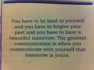 Getting Over You Past (quote from Yogi Bhajan)