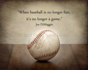 Baseball Quotes For Girls Baseball sports decor: vintage