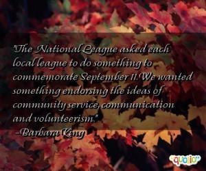 Volunteerism Quotes