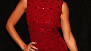 Minka Kelly arrived at the Jenny Packham Spring 2013 fashion show at ...