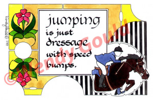 jumping quotes horse jumping sayings cute horse quotes horse jumping ...