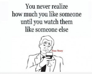 Picture Quotes about Liking someone else - Quotes Lover