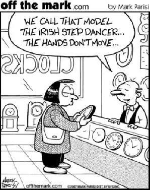 Irish Dance Cartoon