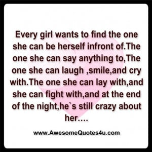 every girl wants.....