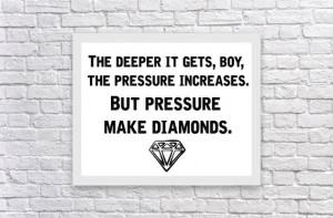 Big Sean lyrics Motivational / Inspirational rap / hip hop quote print ...