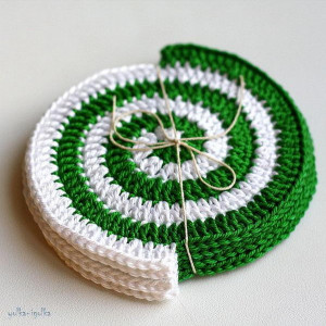 Crochet Coaster.