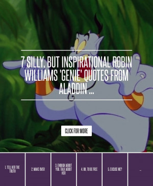 Robin Williams Quotes From Aladdin