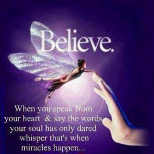 Miracles do happen. I am proof....