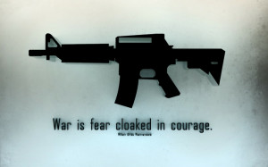 war black guns quotes fearful 1680x1050 wallpaper Abstract Gun HD High ...