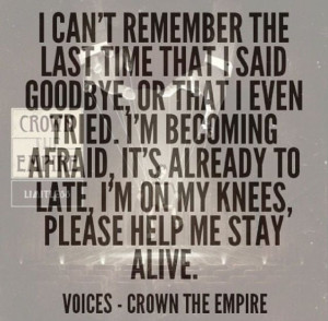 Crown The Empire Lyric Quotes