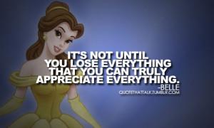 Belle quote. :) - disney-princess Fan Art