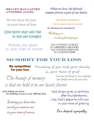 Condolence quotes best deep sayings your loss