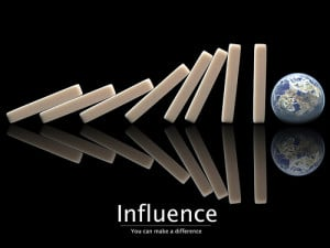 ... about influence truth is we control very little but we can influence