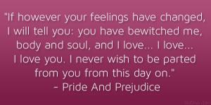 Theme of love in pride and prejudice essay