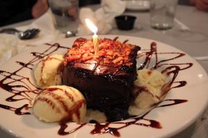 Chocolate Cake Fire Anize